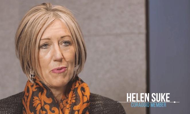 Coraggio member - Helen Suke