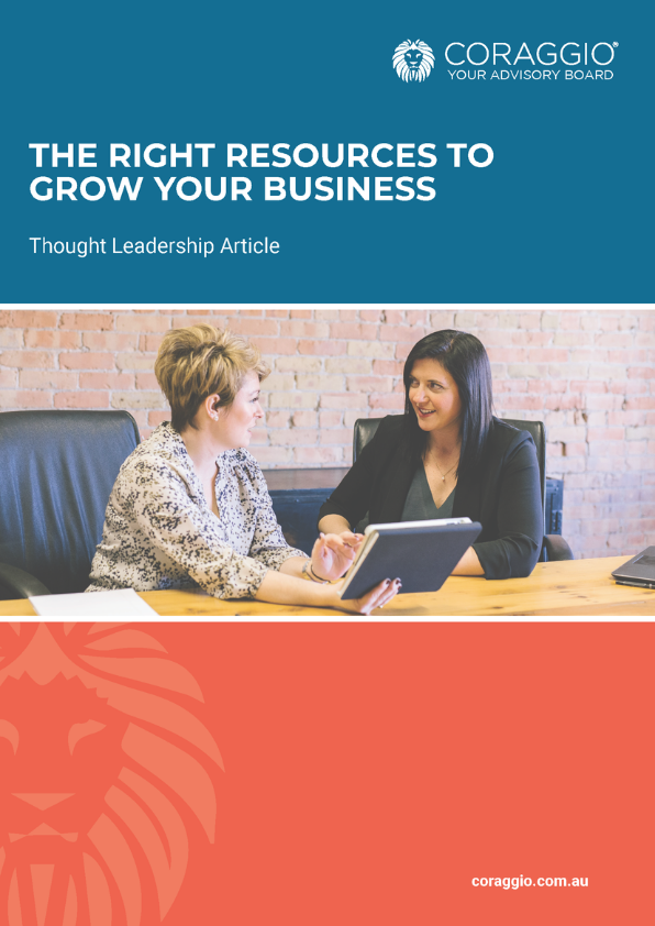 Right resources