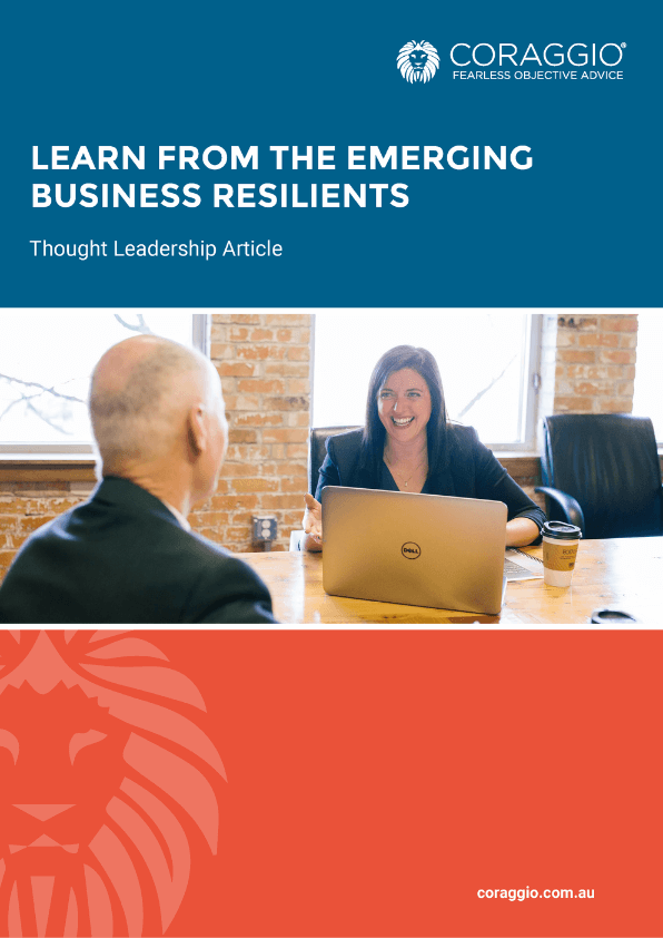 Learn from the emerging business resilients